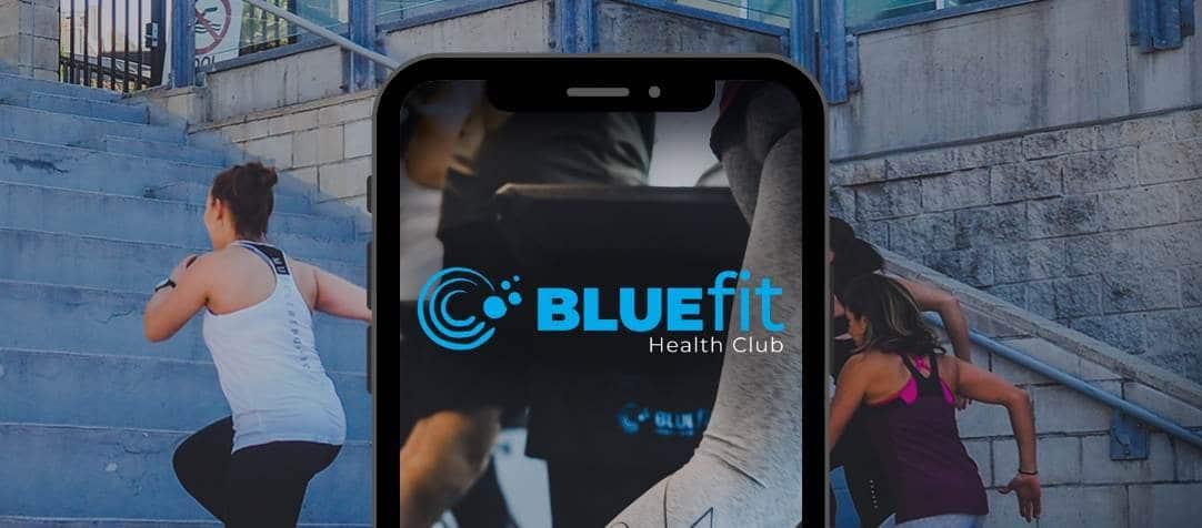The BlueFit Health Club App, Now available!