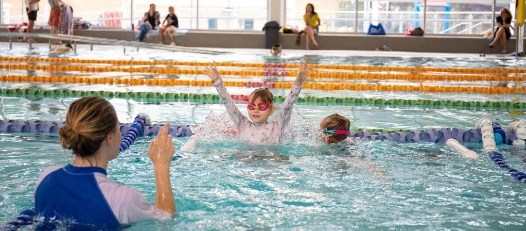 Swim School Students Have Returned at Bexley Aquatic